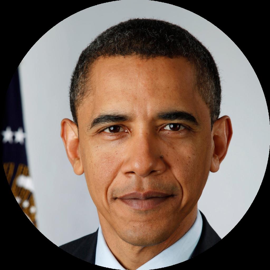 Barack Obama PNG - 861