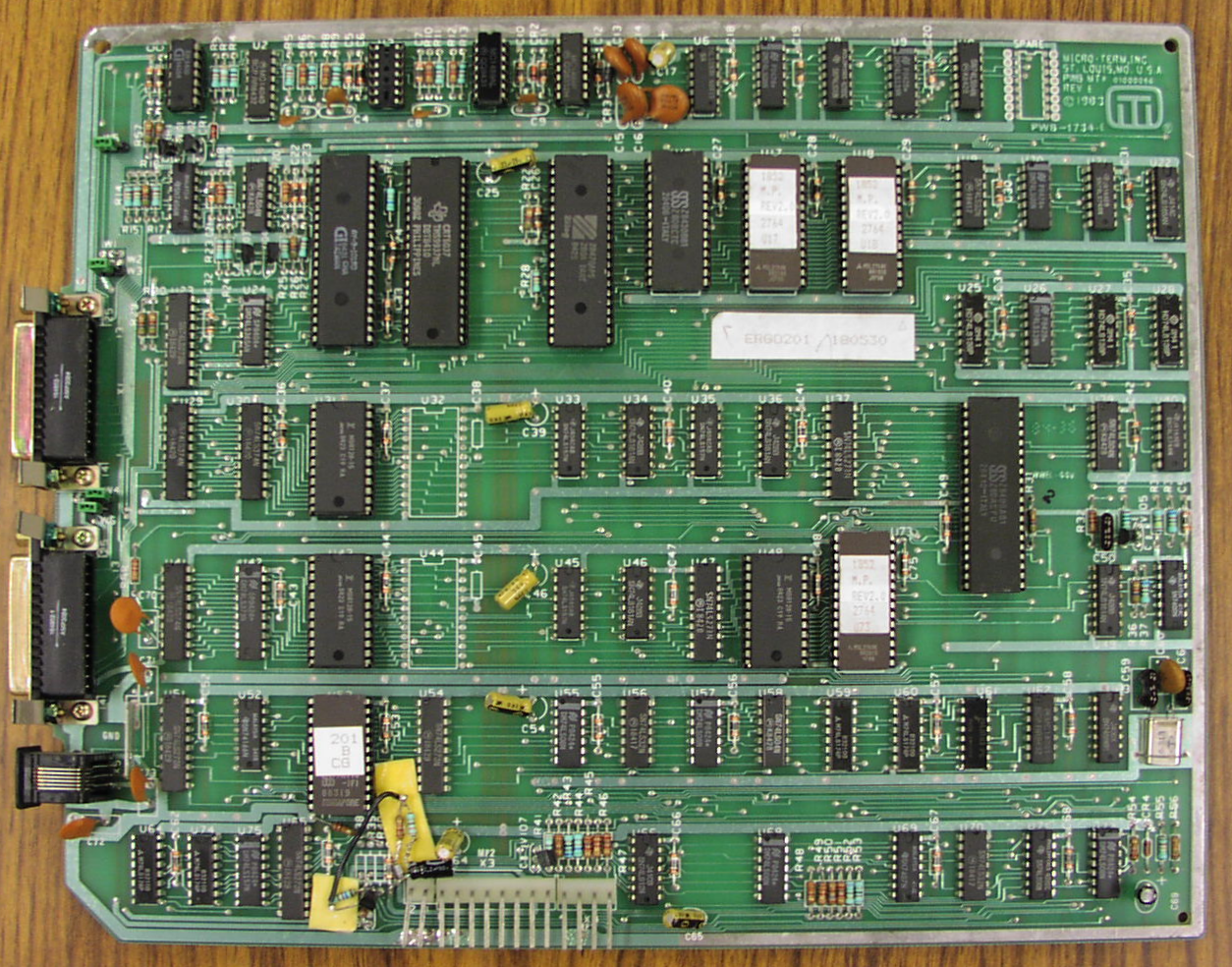 File:Computer-photo-Micro Term Inc-(Micro Term-ERGO- - Motherboard PNG
