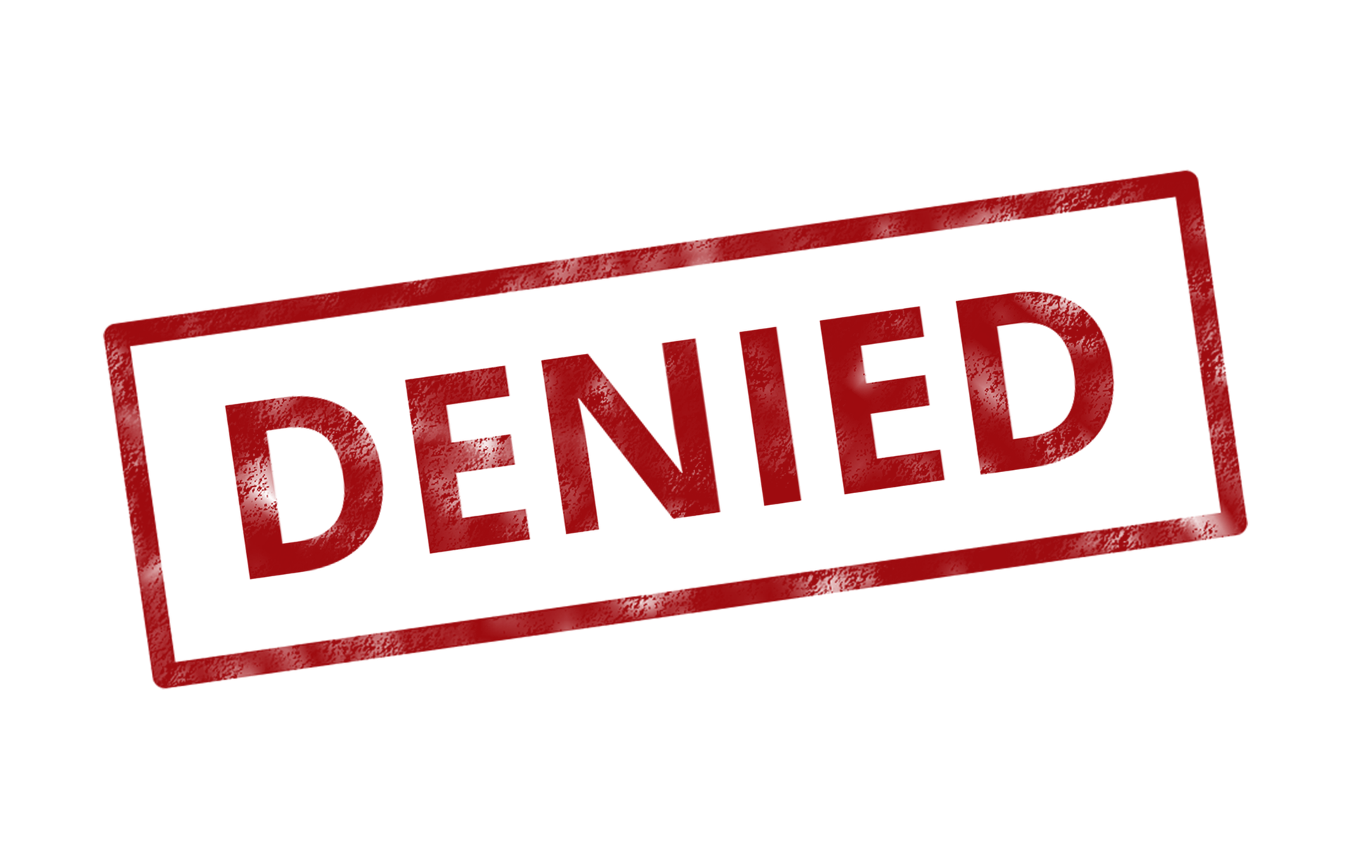 Rejected Stamp PNG - 3889