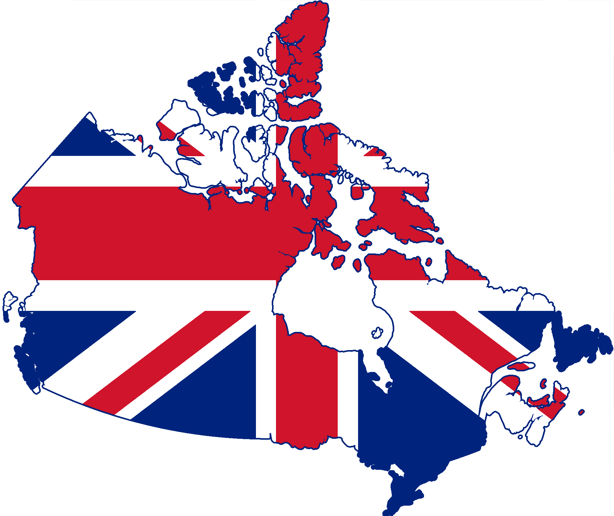 File:Flag Map of Canada (United Kingdom).png - United Kingdom PNG