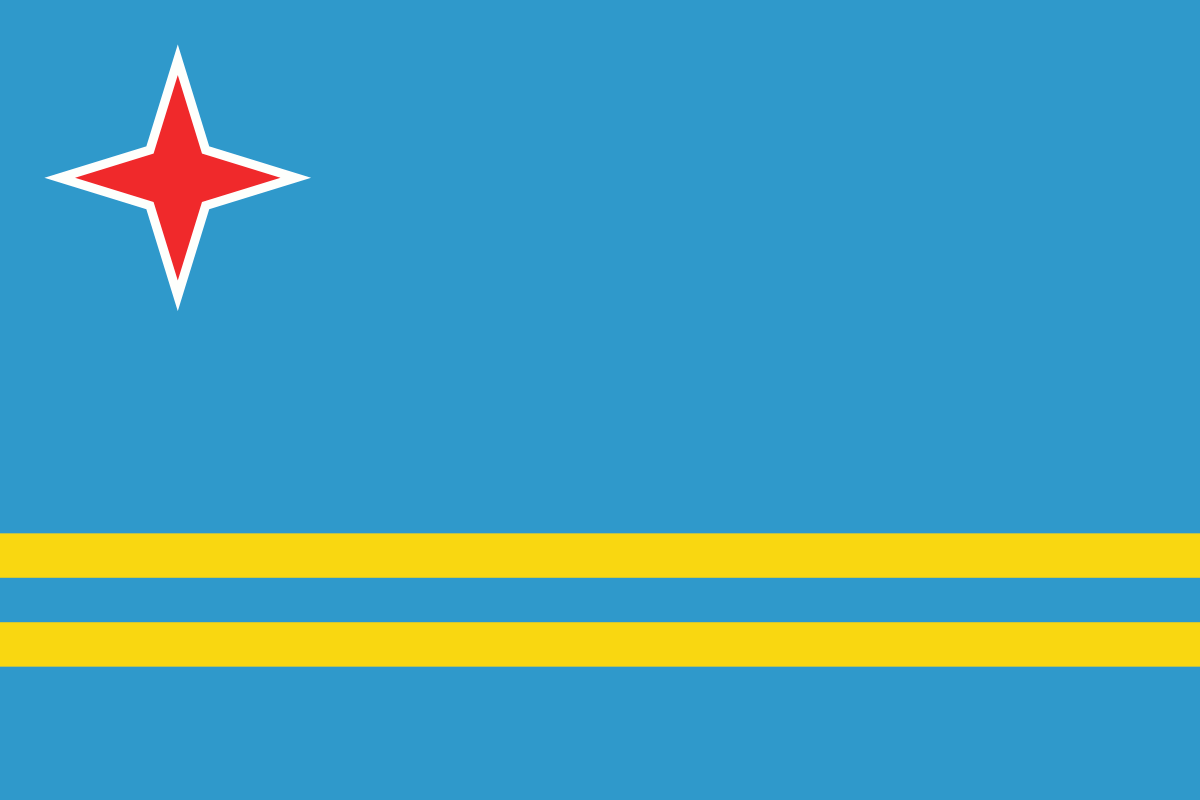 File:Flag of Aruba.png - Aruba PNG