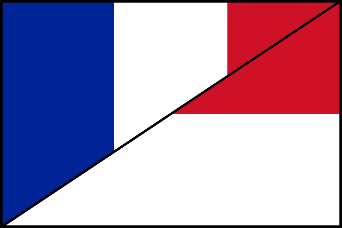 File:Flag of France and Monaco.png - Monaco PNG