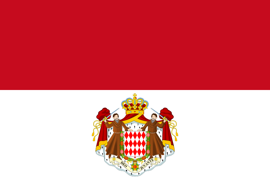 File:Flag of Monaco (state) FICTIONAL.png - Monaco PNG