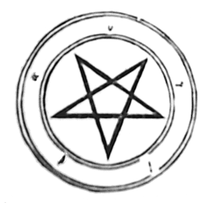 File:Inverted pentacle.PNG - Pentacle PNG