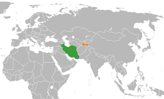 File:Iran Tajikistan Locator.png - Tajikistan PNG