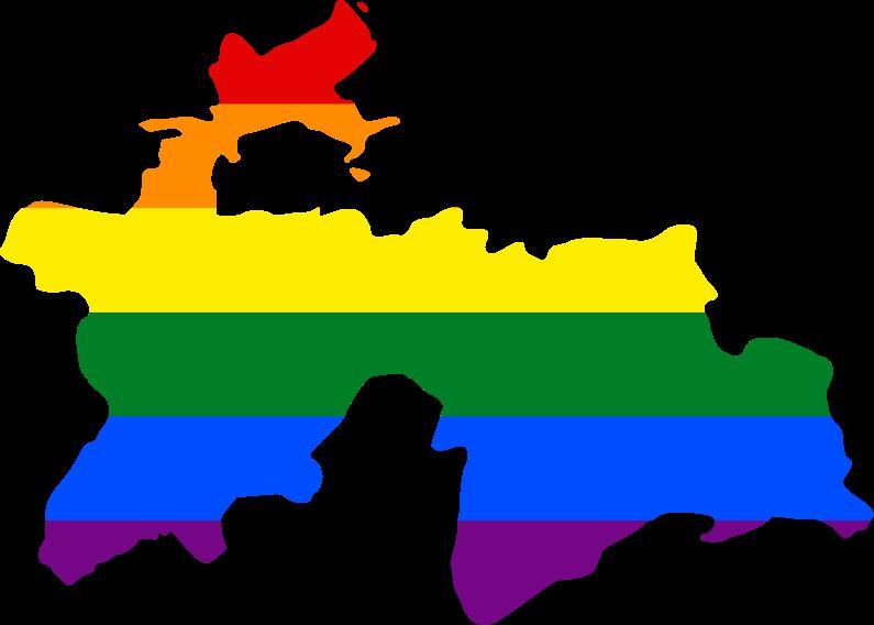 File:LGBT flag map of Tajikistan.svg - Tajikistan PNG