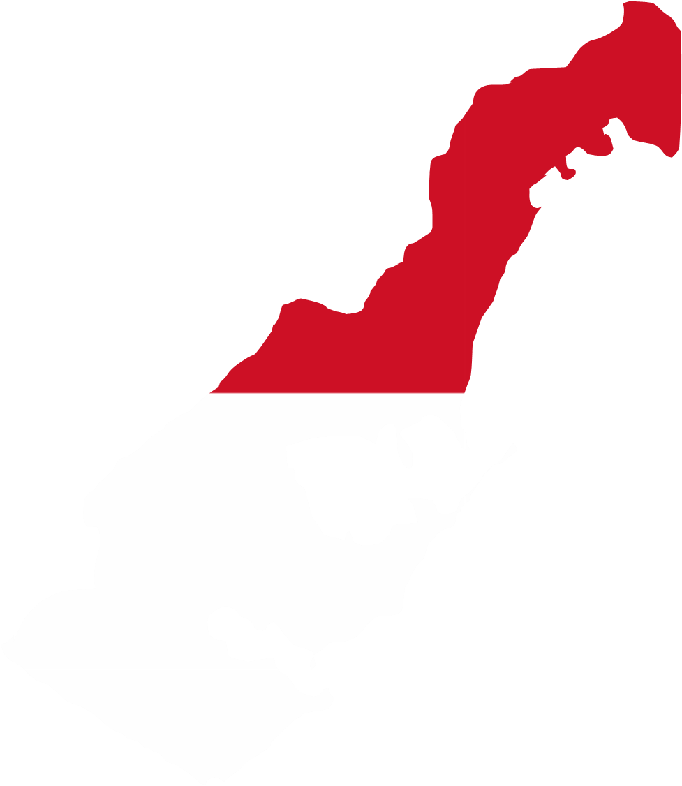 File:Monaco flag map.png - Monaco PNG