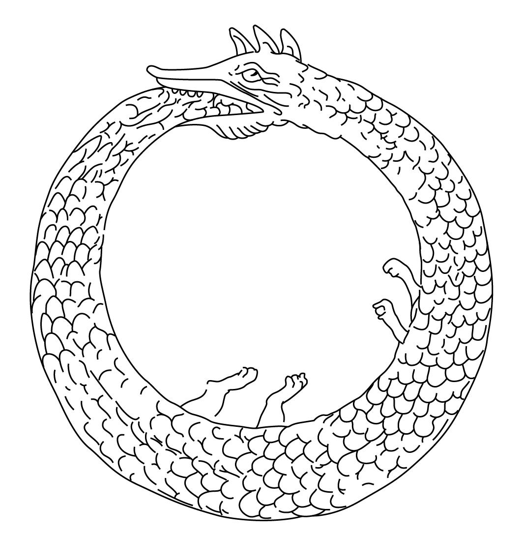 File:Ouroboros1.png - Ouroboros PNG