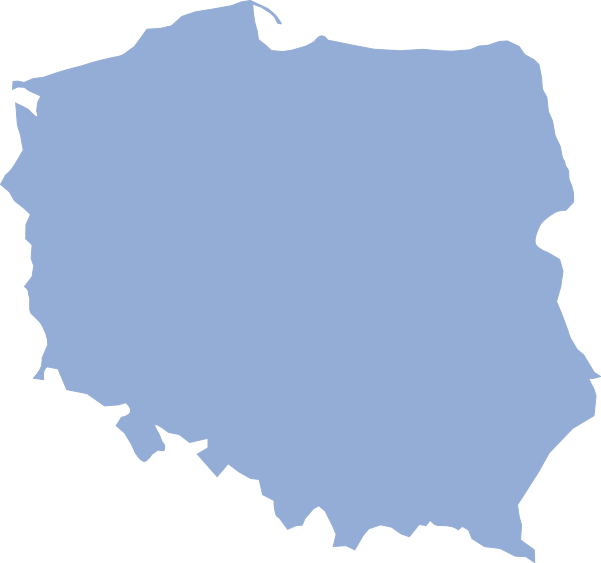 File:Polska map blank.png - Poland PNG