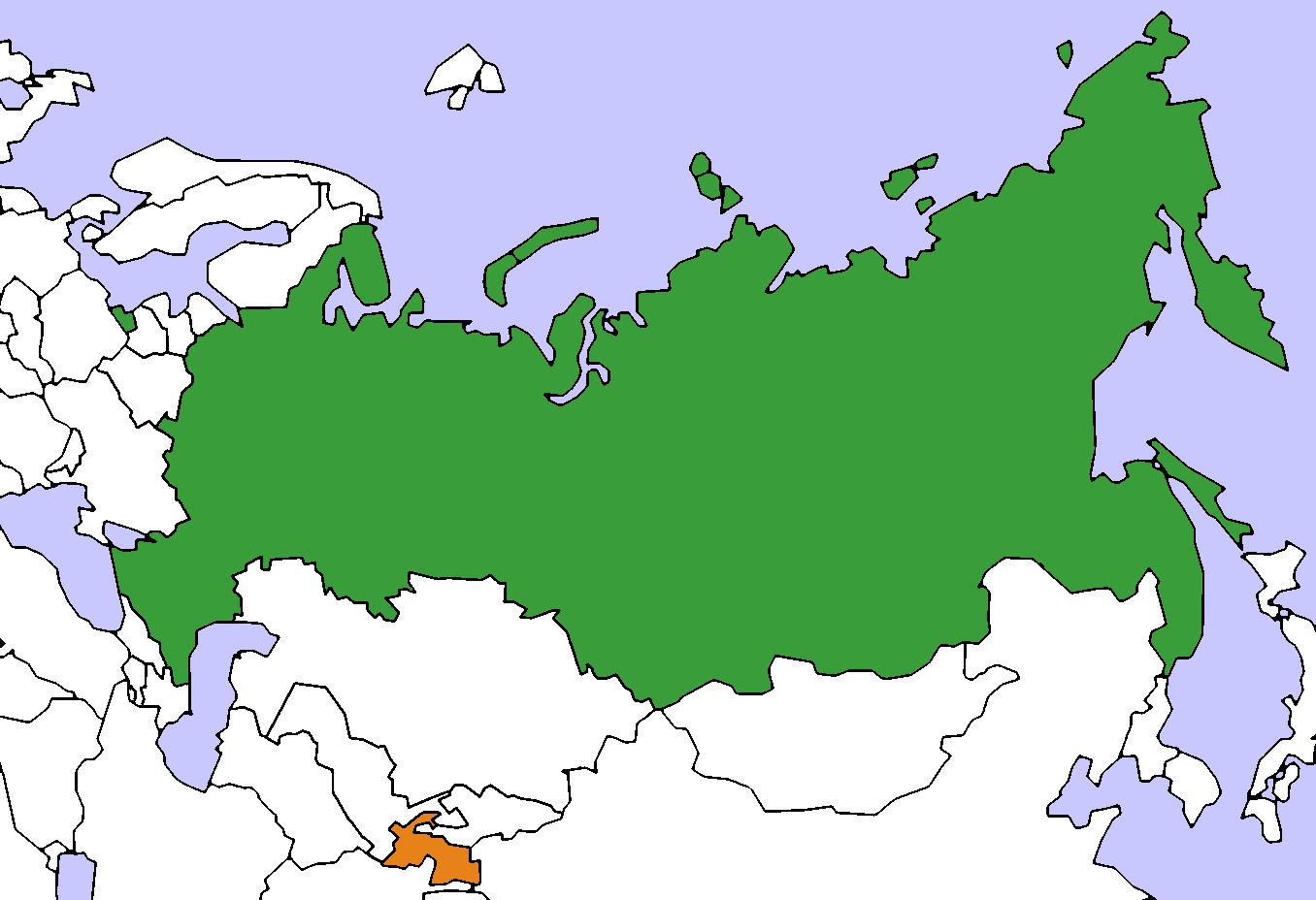 File:Russia Tajikistan Locator.png - Tajikistan PNG