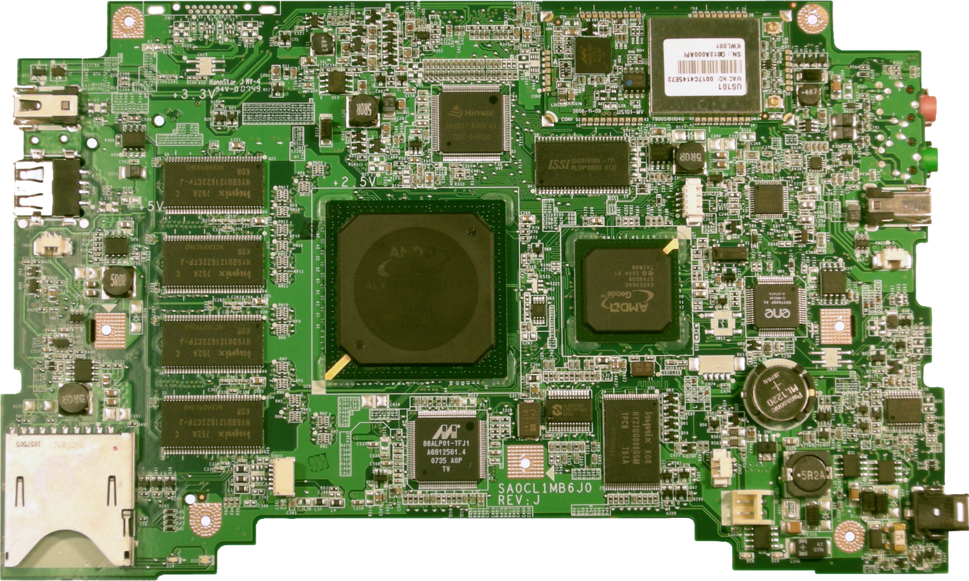 File:XO Motherboard.png - Motherboard PNG