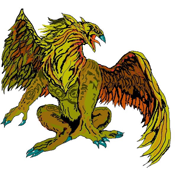 Griffin PNG - 4558
