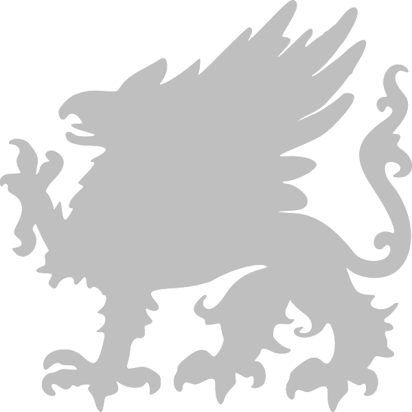 Filename: silver-griffin-hi.png - Griffin PNG