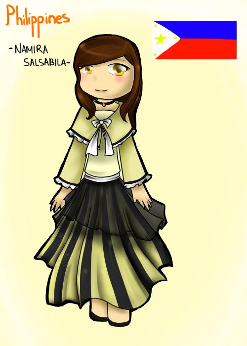 Filipino Costume PNG - 137446