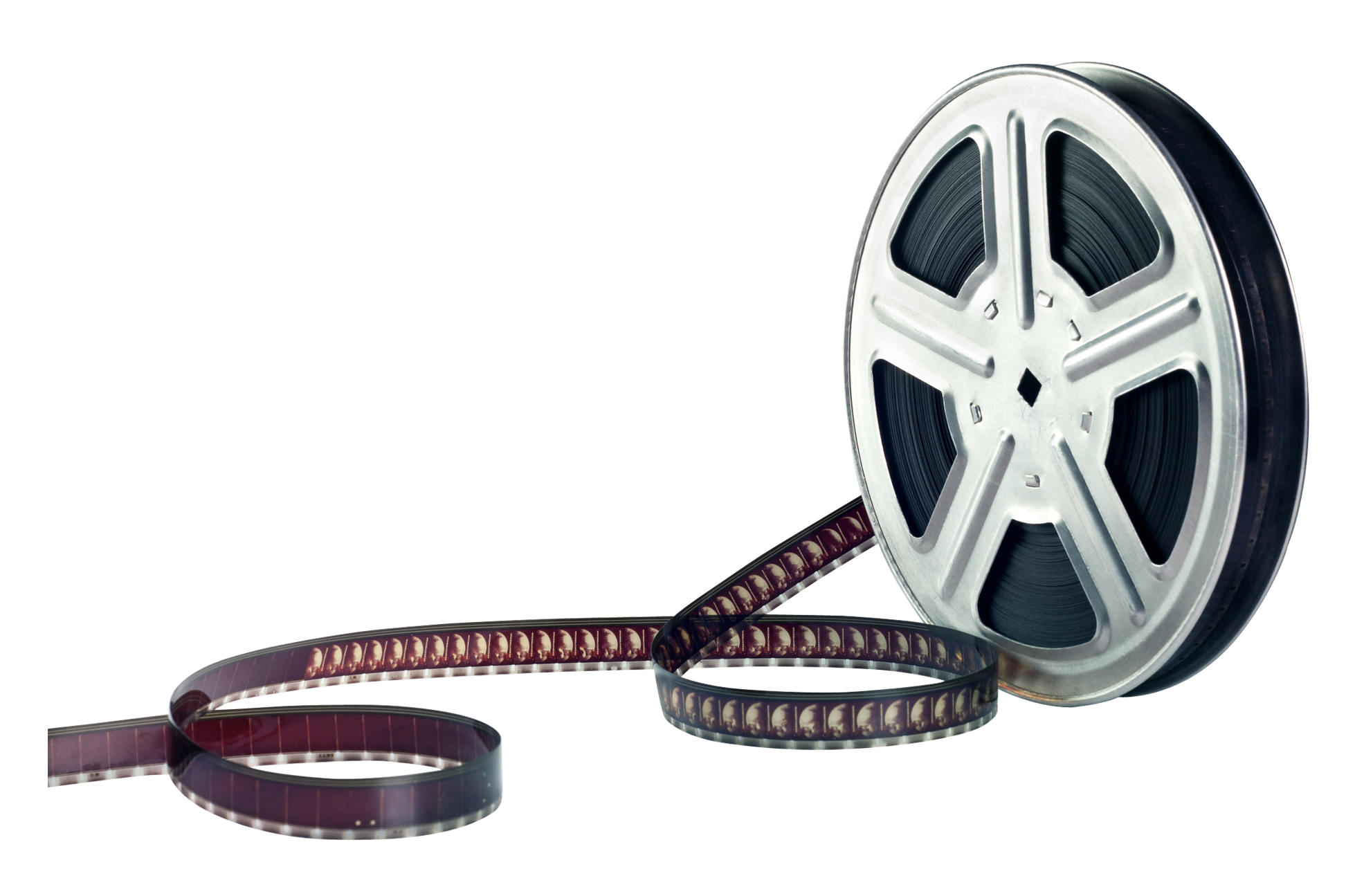 movie reel silhouette | Film
