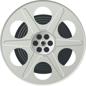 Movie Reel Clip Art - Film Reel PNG