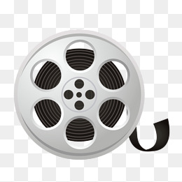 Vector movie film roll PNG, The Film, The Film Roll, PNG Vector PNG - Film Reel PNG