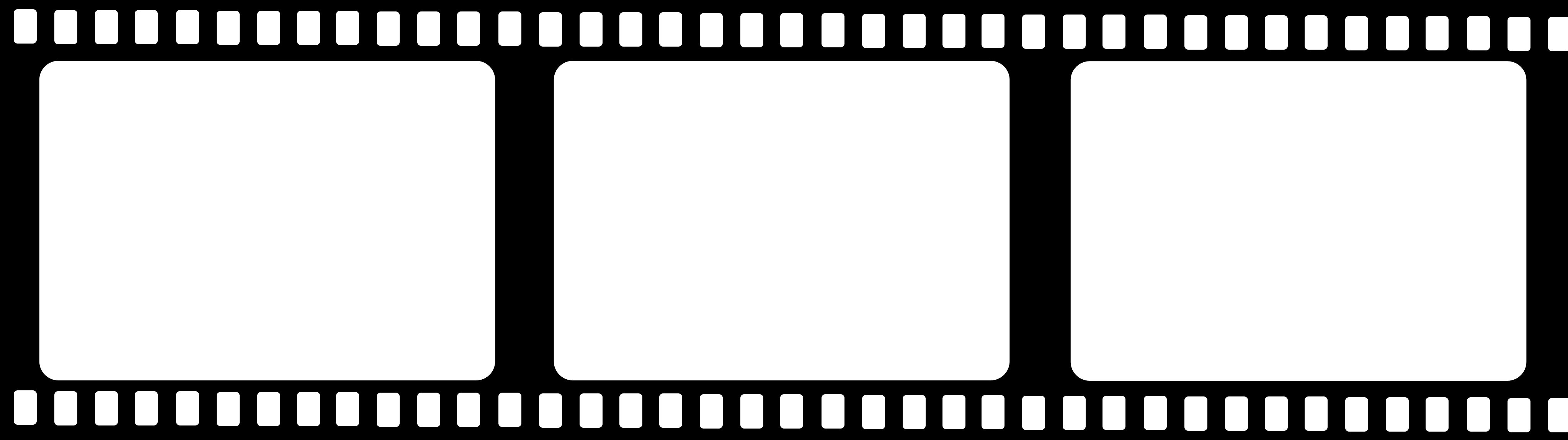 Movie Reel Border - Clipart library - Films PNG HD
