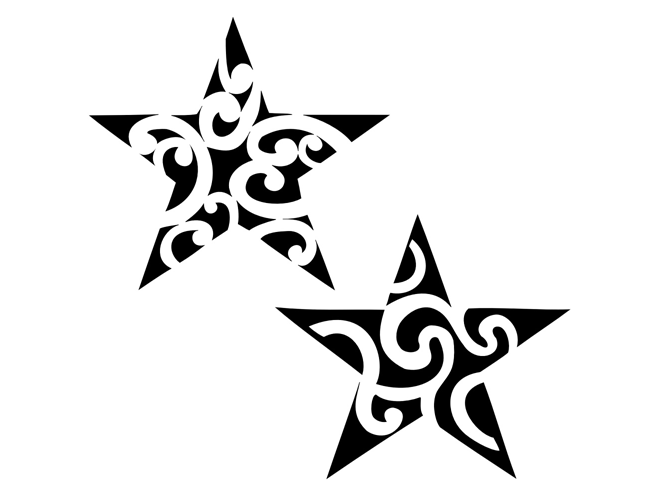 Star Tattoos PNG - 25