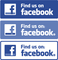 Find Us On Facebook Vector PNG - 34028