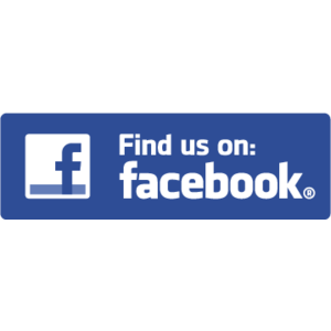 Find Us On Facebook Vector PNG - 34026