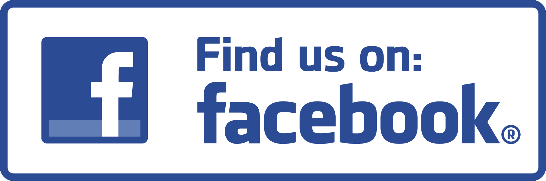 Find Us On Facebook Vector PNG - 34022