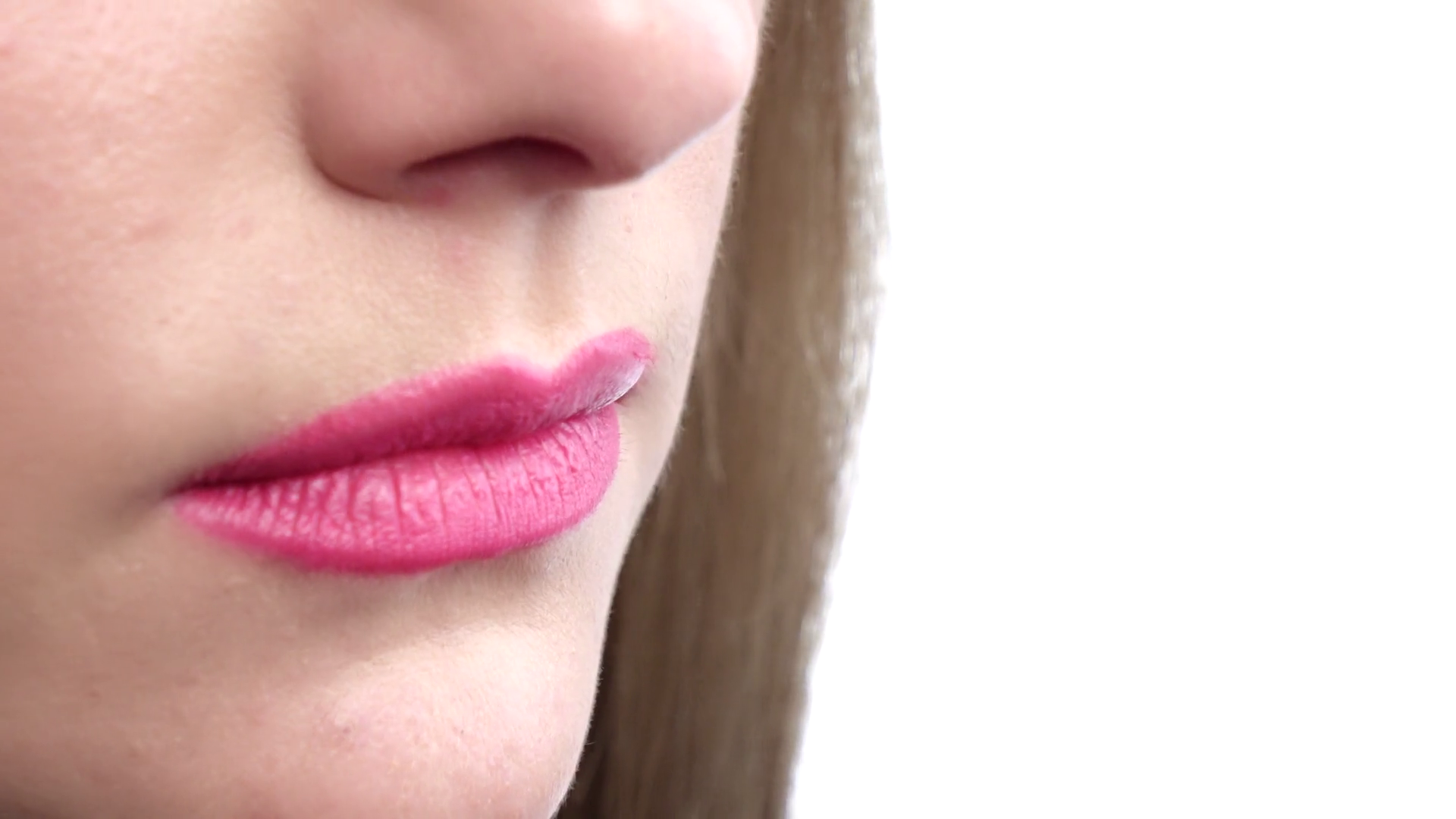 Finger on lips - silent gesture. Woman holding her finger to her lips in a  gesture for silence. Closeup Stock Video Footage - VideoBlocks - Finger On Lip PNG
