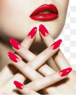 Nail lips - Finger On Lip PNG