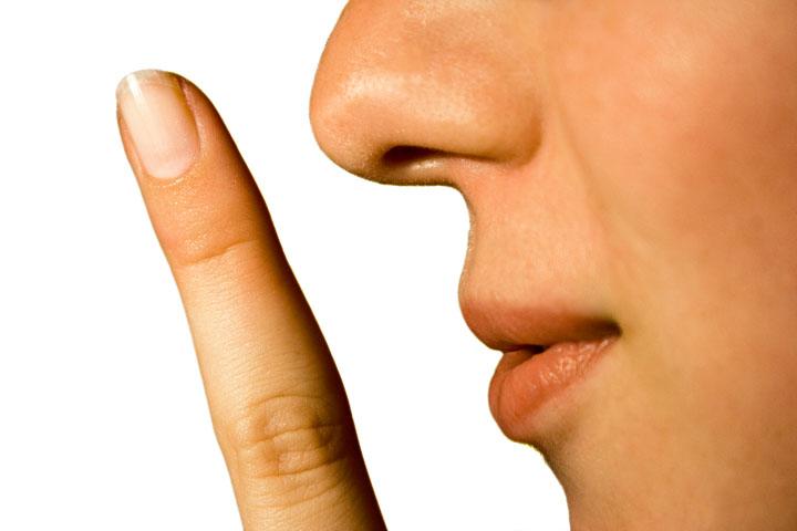 Finger On Lips Shhh PNG - 85904