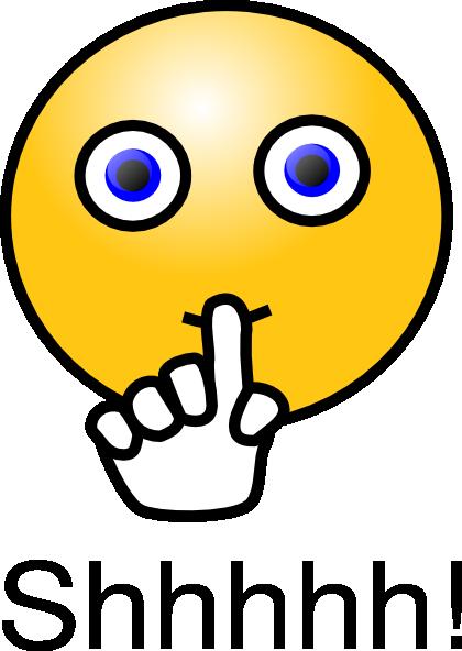 Finger On Lips Shhh PNG - 85910