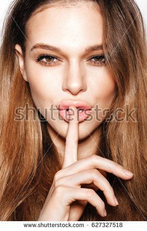 Finger On Lips Shhh PNG - 85915