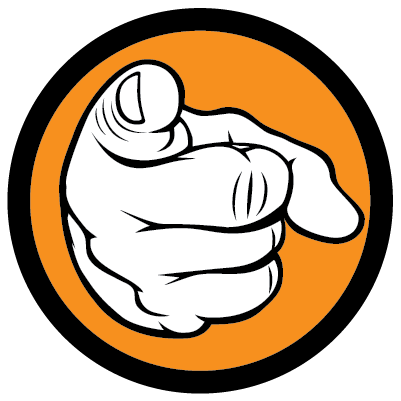 Finger Pointing At You PNG - 167325