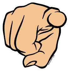 Finger Pointing At You PNG - 167327