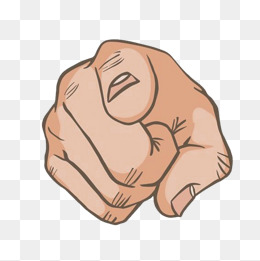 Finger Pointing At You PNG - 167315