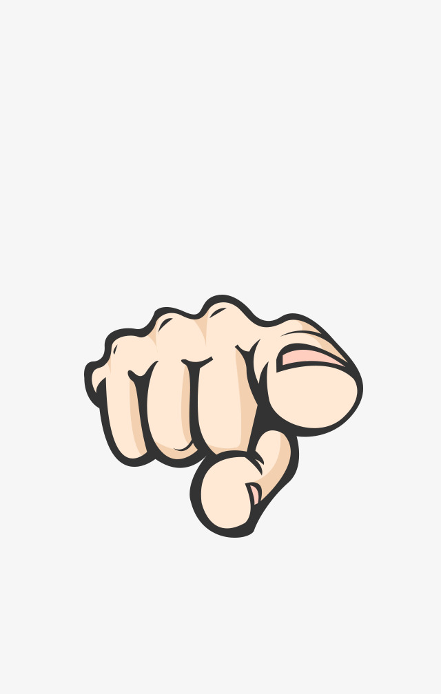 Finger Pointing At You PNG - 167328