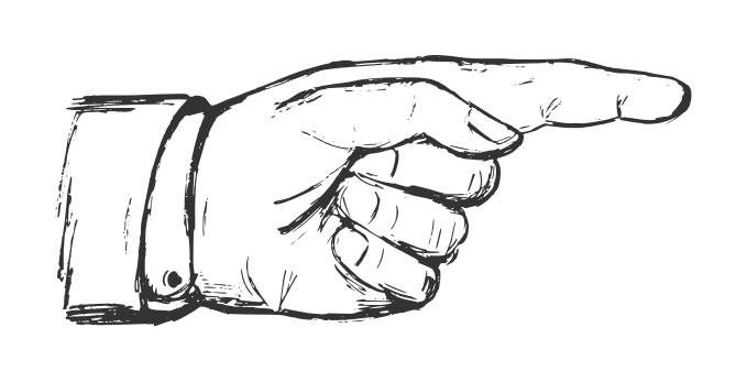 Finger Pointing At You PNG - 167333