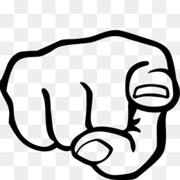 Finger Pointing At You PNG - 167318
