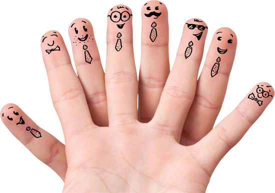 Fingers PNG image - Fingers PNG