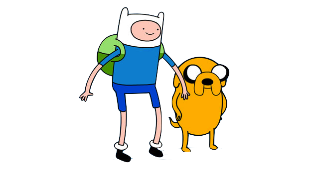 Finn-and-jake.png - Finn And Jake PNG