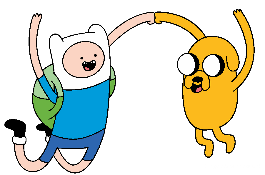 Gift Finn And Jake by Thiago082 PlusPng.com  - Finn And Jake PNG
