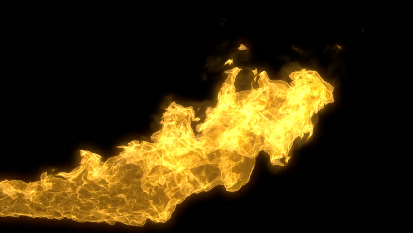 Animated Realistic Stream Of Fire Like Fire-breathing Dragonu0027s Flames With  Alpha Channel. Stock Footage Video 9485738 | Shutterstock - Fire Breathing Dragon PNG HD