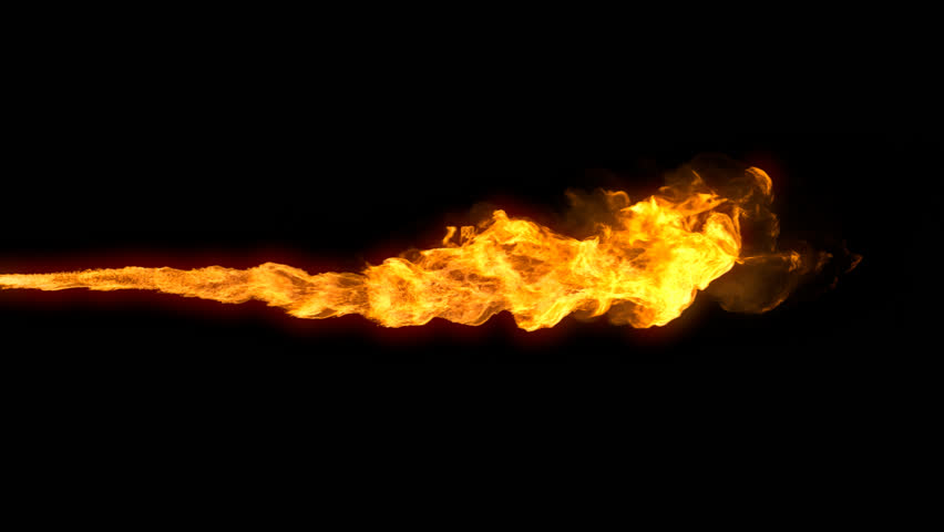 Animated Realistic Stream Of Fire Like Flamethrower Shot Or Fire-breathing  Dragonu0027s Flames. Clip With Alpha Channel. Stock Footage Video 15611473 | PlusPng.com  - Fire Breathing Dragon PNG HD