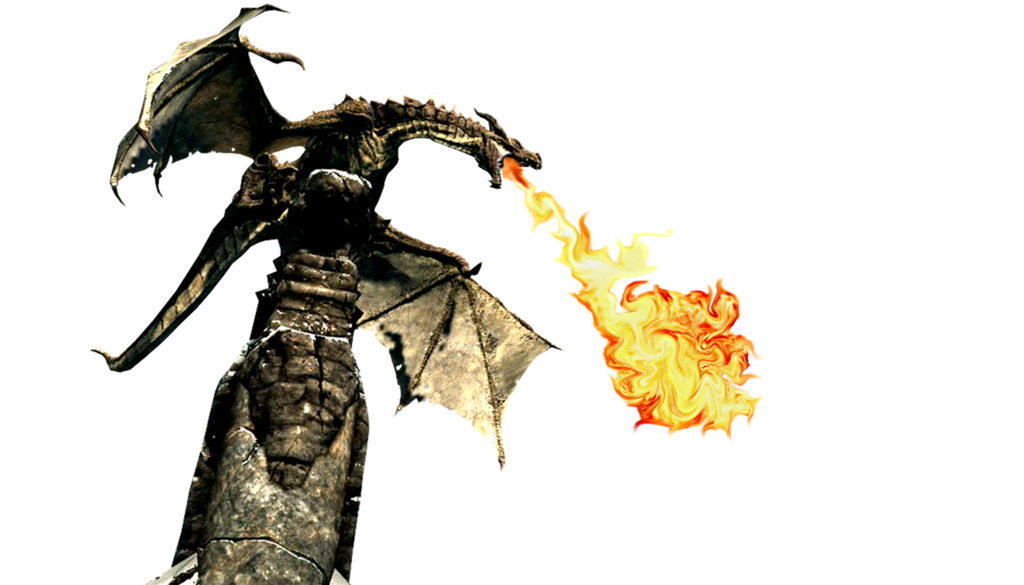 Clipart Library: More Like Dragon Breathing Fire Icon By SlamItIcon - Fire Breathing Dragon PNG HD