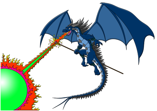Dragon Breathing Fire Clipart | Clipart library Free Clipart Images.  Kevinu0027s Blog World - Fire Breathing Dragon PNG HD