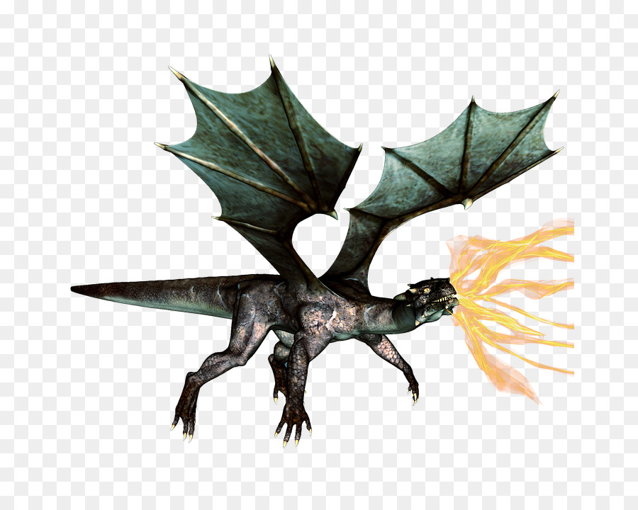 European Dragon Fire Breathing - Fantasy Dragon PNG HD - Fire Breathing Dragon PNG HD