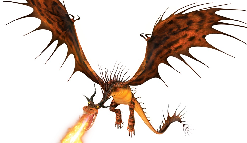 Fire-Breathing-Nightmare.png - Fire Breathing Dragon PNG HD