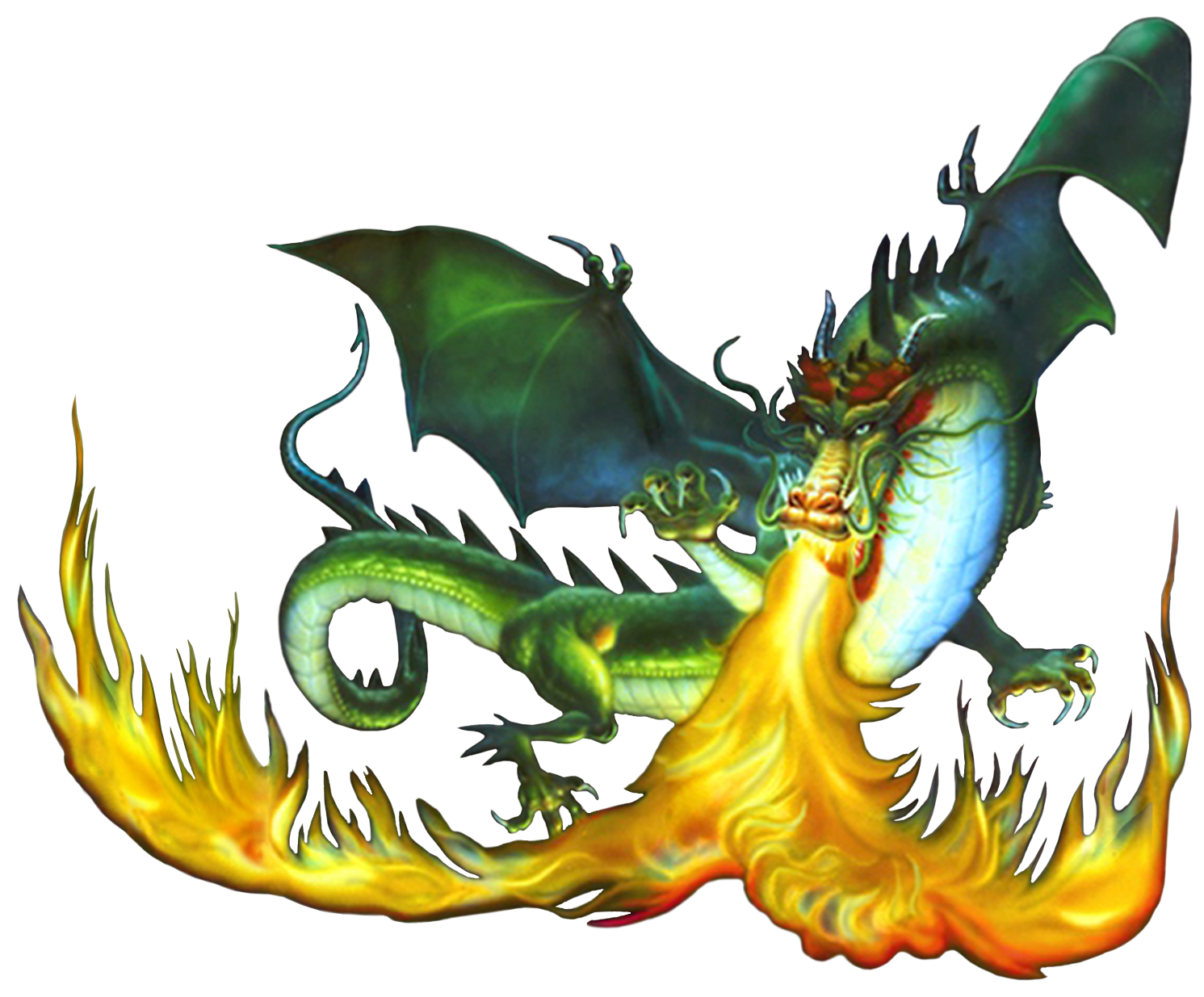 Firebreathing Dragon #1380502 - Fire Breathing Dragon PNG HD