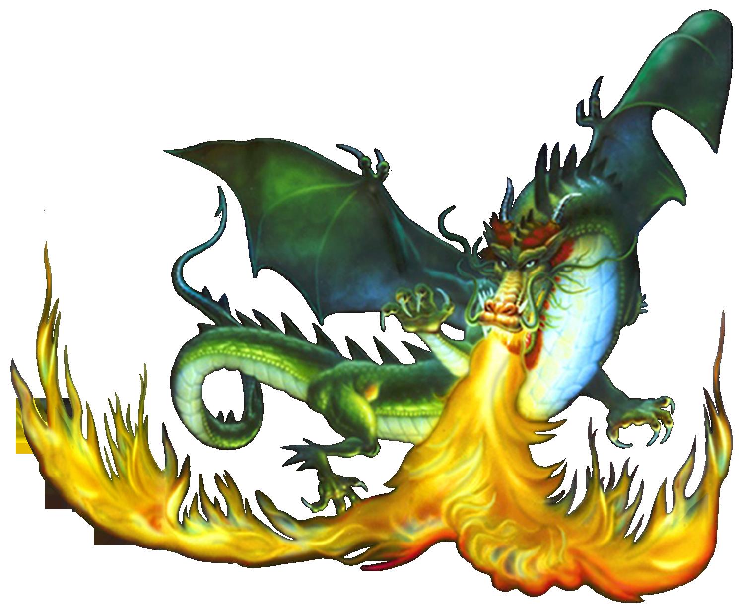 Firebreathing Dragon #1380502 - Fire Breathing Dragon PNG HD