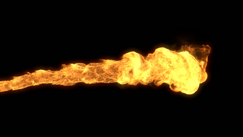 Realistic Stream Of Fire Like Fire-breathing Dragonu0027s Flames With Alpha.  Stock Footage Video 9425126 | Shutterstock - Fire Breathing Dragon PNG HD