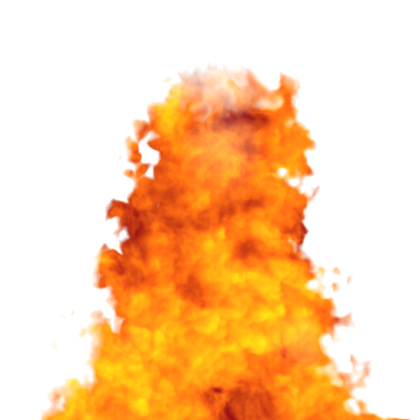 Spoiler: Give me even hotter fire! - Fire PNG Gif